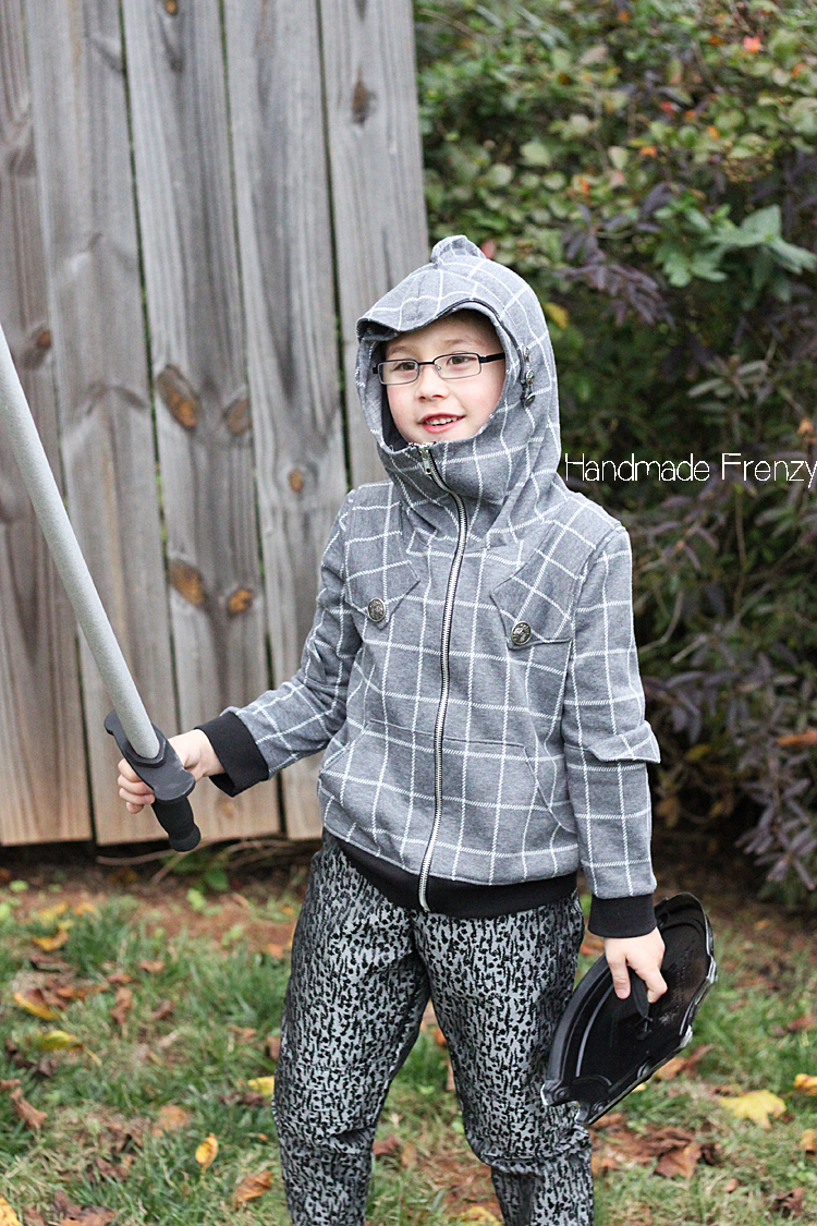 Sewing // Knight Hoodie & Costume