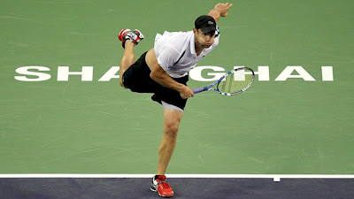 Andy Roddick in Shanghai