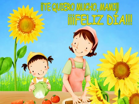 Frases Dia De La Madre: Te Quiero Mucho Mami Feliz Día