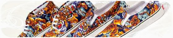 chaussures vans et kenzo flying tiger
