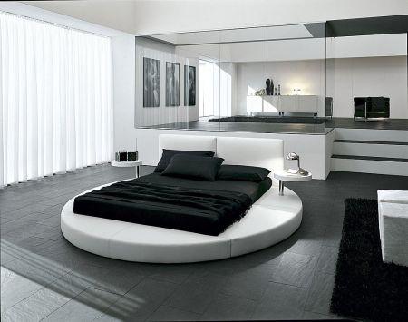 Fotos de dormitorios en blanco y negro dormitorios con for Dormitorio negro