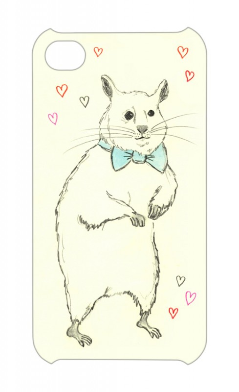 Asa Wikman I love Hamster Iphone case now available at Iconemesis