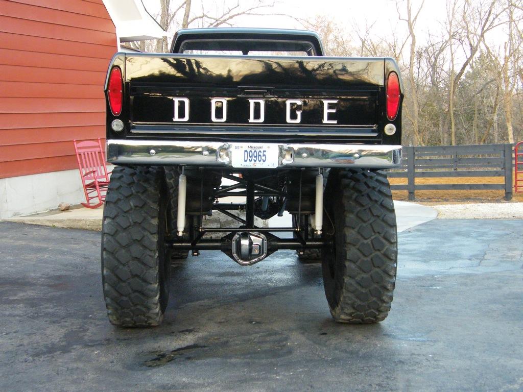 Daily Turismo 15k Mayan Carpocalypse 1967 Dodge Monster Pickup Truck
