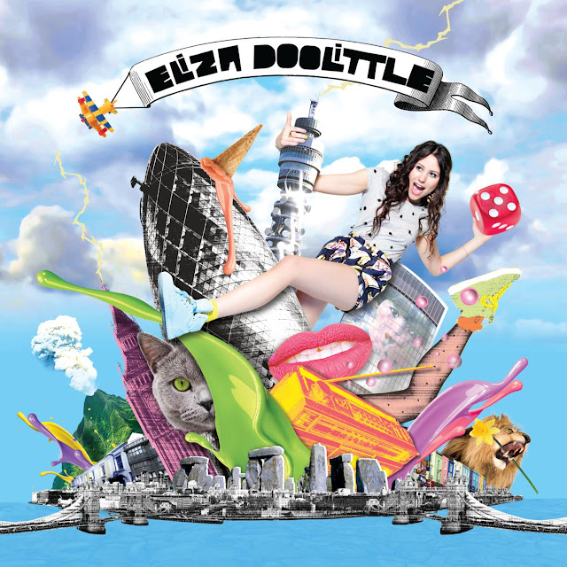 eliza doolittle album cover. To help promote the album,