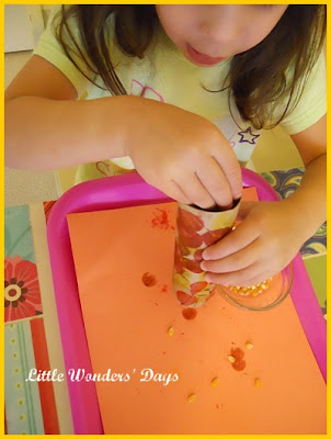 preschool corn theme craft