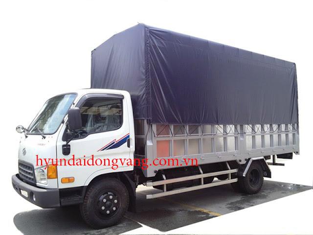 xe tải hyundai hd78 thùng bạt