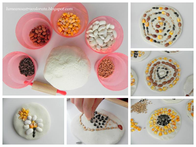 Plăcinte din aluat sărat si semințe de toamnă
