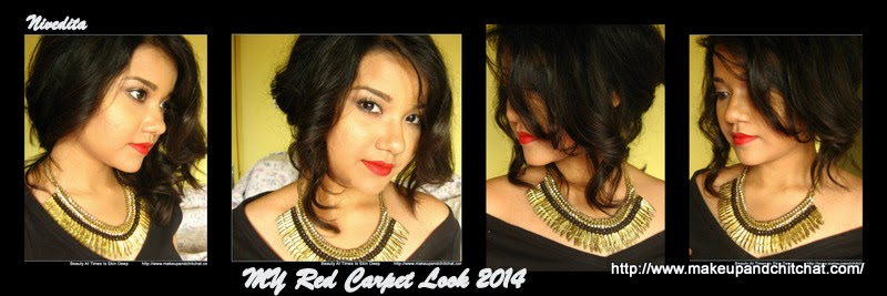 Photo roll of red Carpet Look by Nivedita
