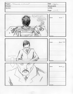 Killing Lincoln Storyboards