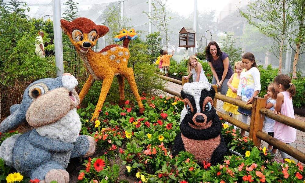 Epcot International Flower and Garden Festival em Orlando
