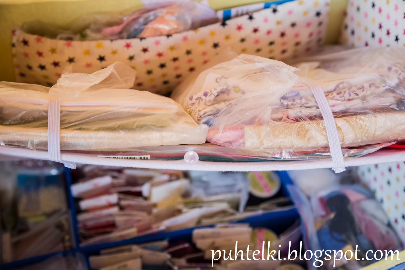 Case for needlework staff