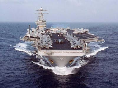 la proxima guerra portaaviones george h w bush siria