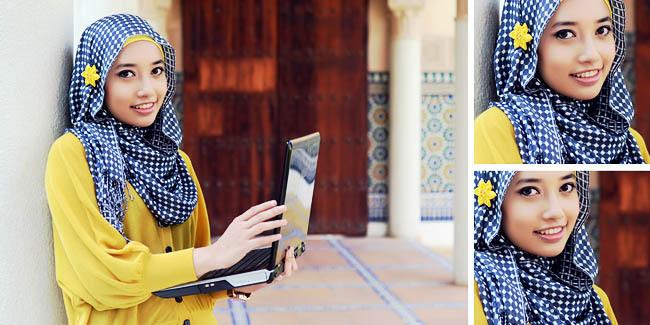 Tips dan Trik Memakai Bros Jilbab