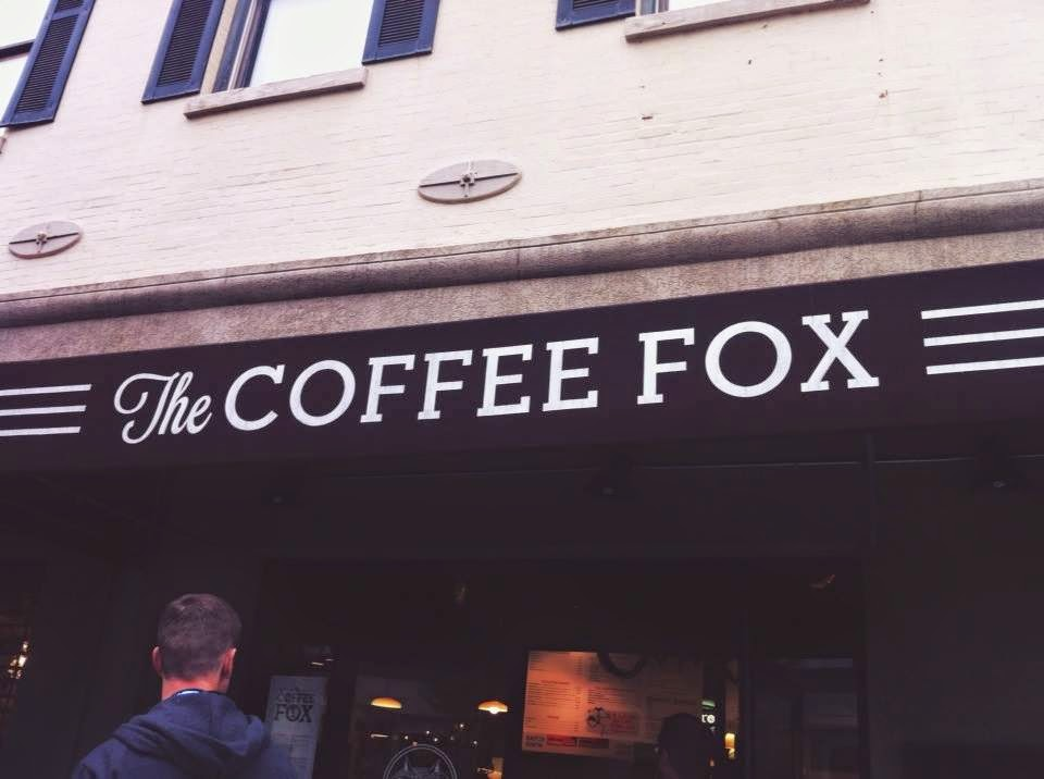 savanna georgia downtown shopping coffee hipster the coffee fox