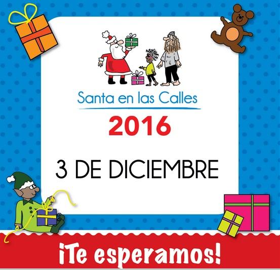 Santa en las Calles de Caracas, colecta