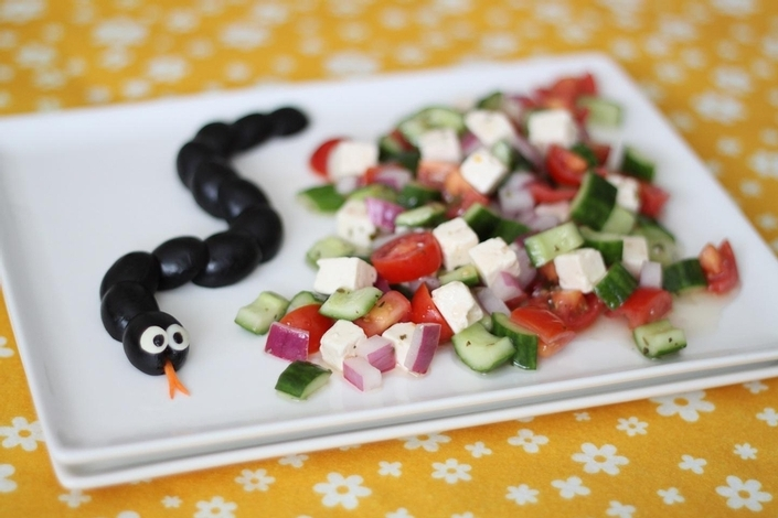 Halloween salad ideas