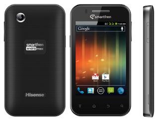Hisense E860 SmartFren Andro Max HP Android CDMA harga dibawah 1 juta