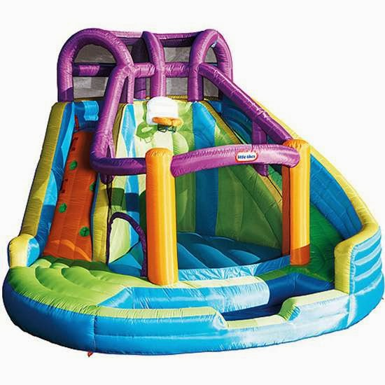 Little tikes R2 in 1 Wet and Dry Bouncer