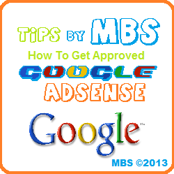 Adsense Approvement Tips