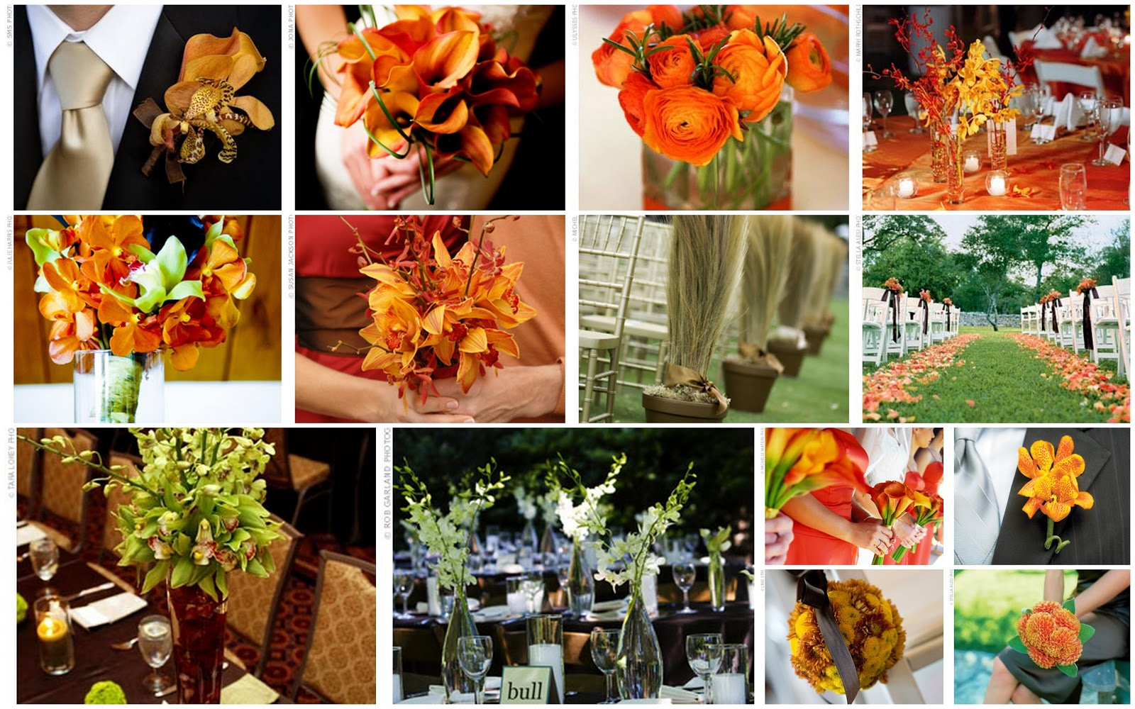Fall wedding flower ideas unique wedding ideas and for Autumn wedding decoration ideas