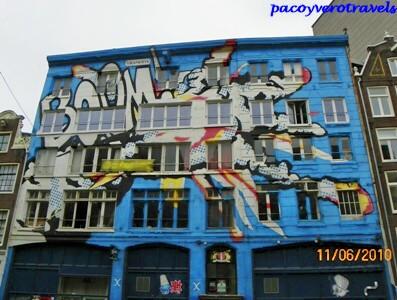Casa de Okupas en Ámsterdam