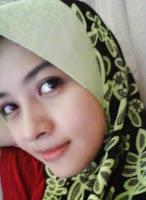 Gadis Melayu Ayu Cun Comel Bertudung