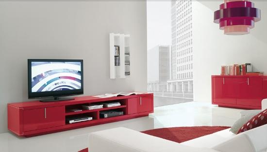 yeni+trend+kirmizi+tv+unitesi Bellona Tv Üniteleri Modelleri
