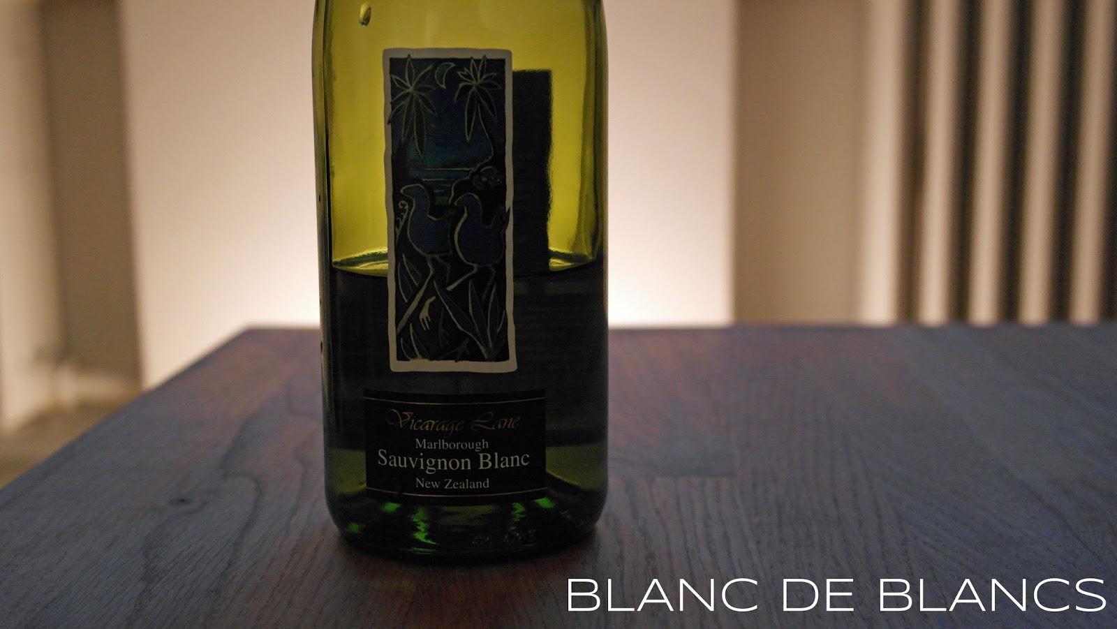 Vicarage Lane Sauvignon Blanc 2014 - www.blancdeblancs.fi