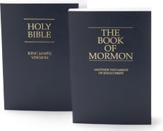 We love the Bible and The Book of Mormon. Two testaments of Jesus Christ.