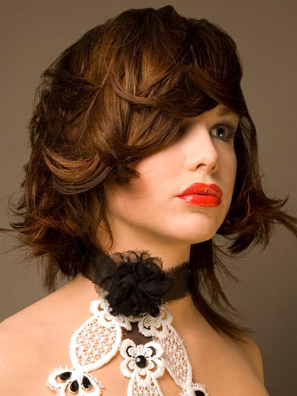 peinados de cabello desmechado 2013