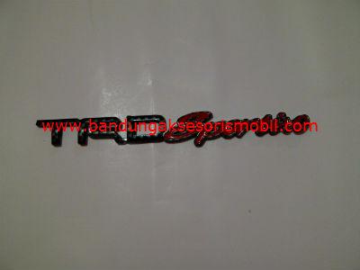 Emblem Car Logo TRD Sportivo Carbon