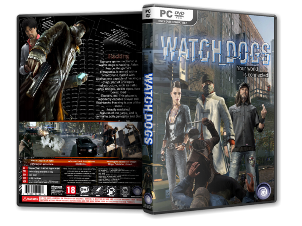 Capa Watch Dogs PC