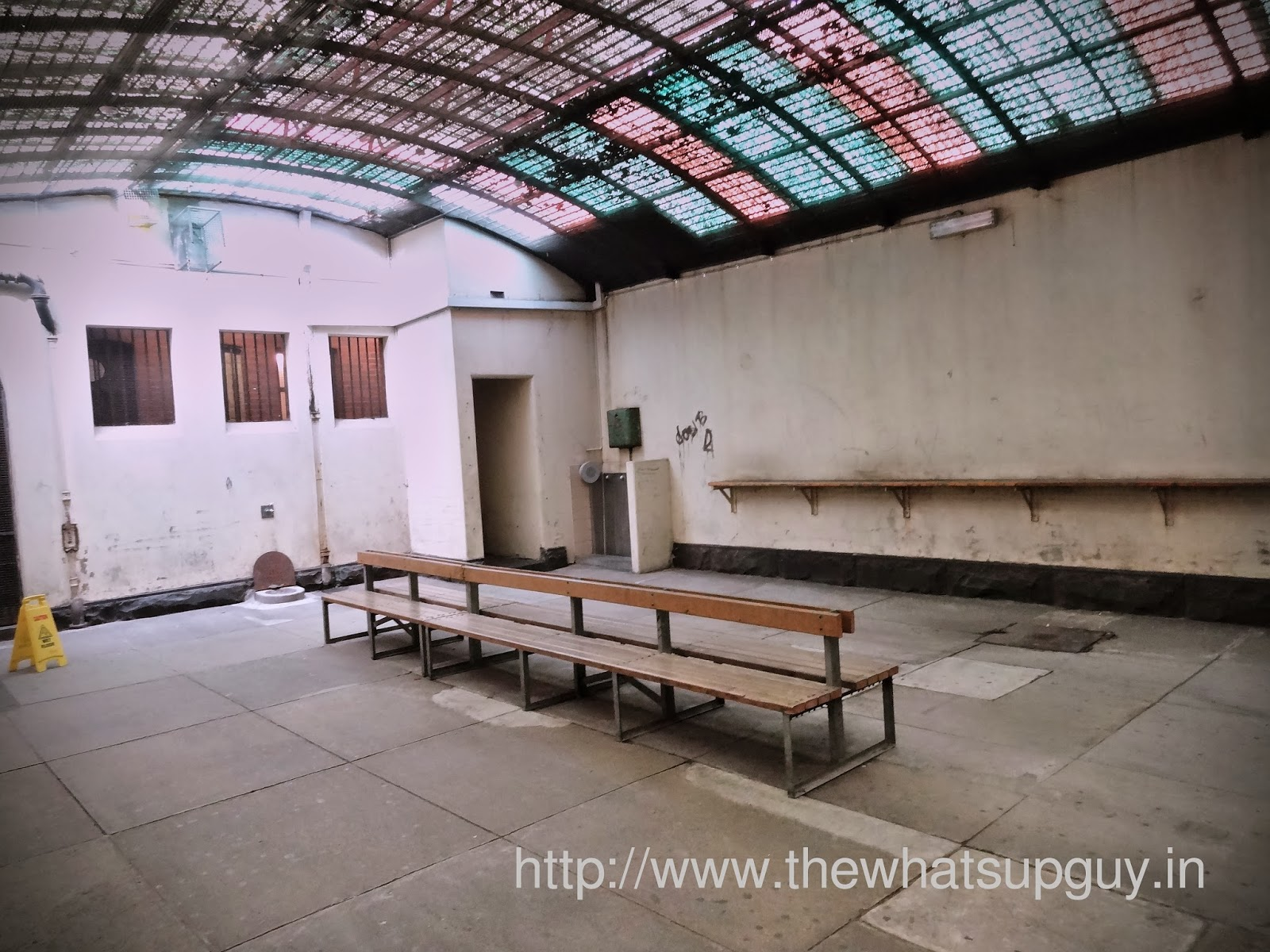 Old Melbourne Gaol Common Area
