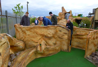 Gold Mine Adventure Golf in Skegness
