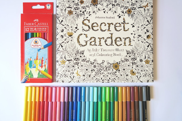 21- 20th Birthday Haul Blog Post- Secret Garden and Textas