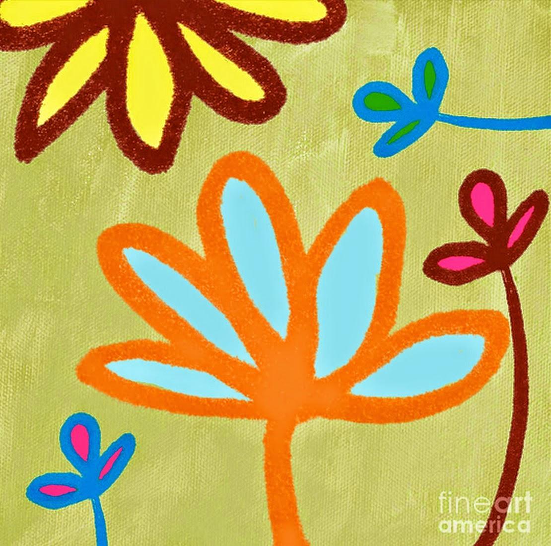Cuadros modernos pinturas y dibujos pinturas al leo - Como hacer cuadros faciles en casa ...