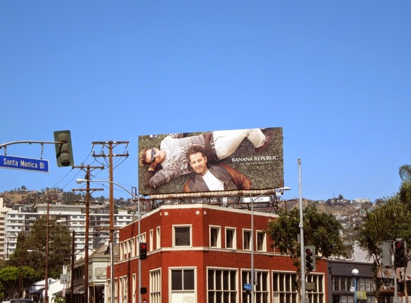 Banana Republic True Outfitters S14 billboard