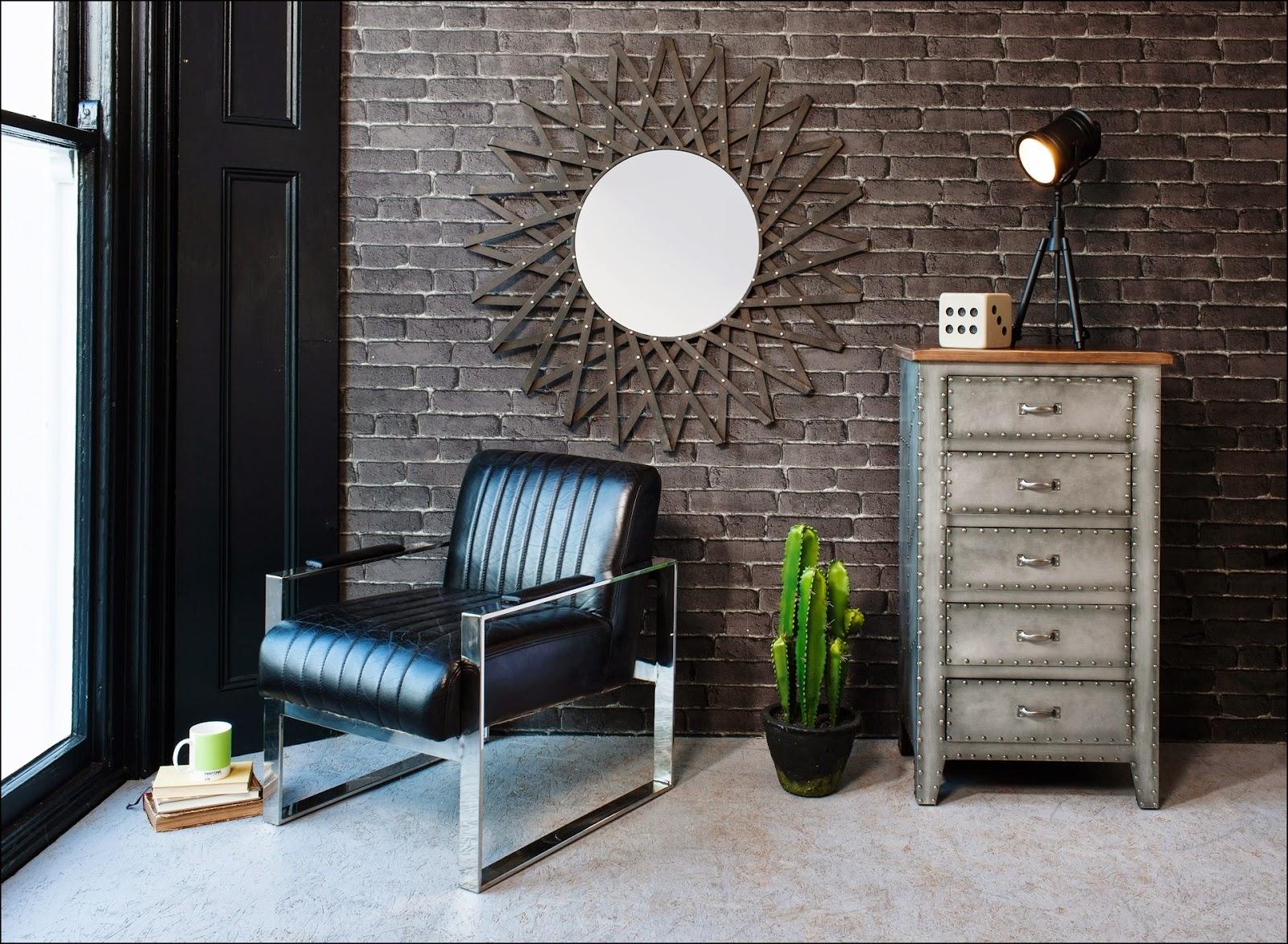 Blog de mbar muebles lofts de estilo industrial for Espejo estilo industrial