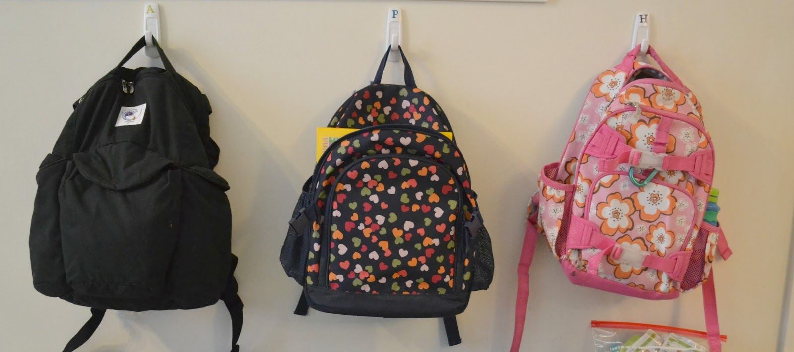 Ideas for hanging backpacks ideas for hanging backpacks my Ideas for hanging backpacks