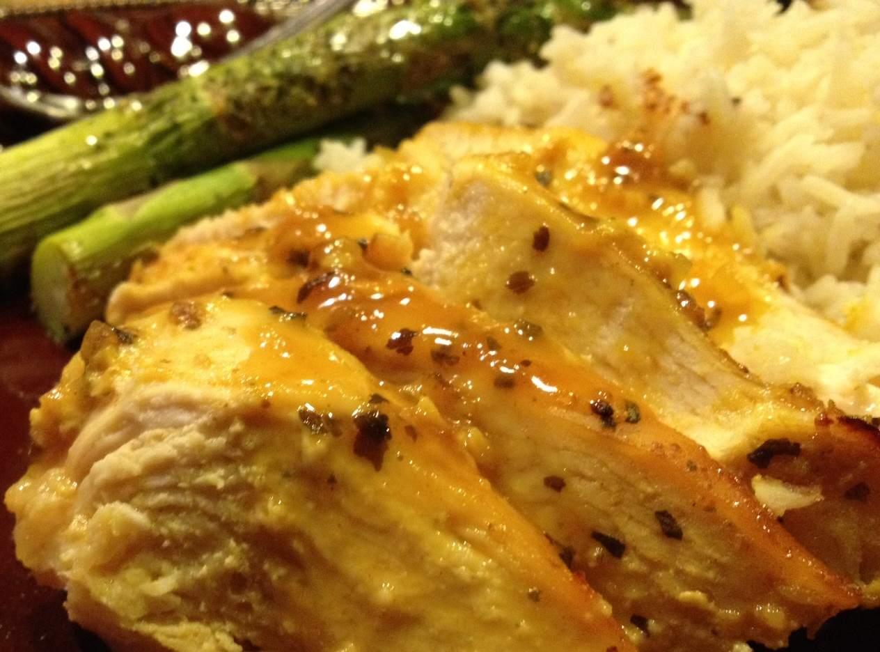 Fitness For Ever: Dijon Basil Chicken Recipe