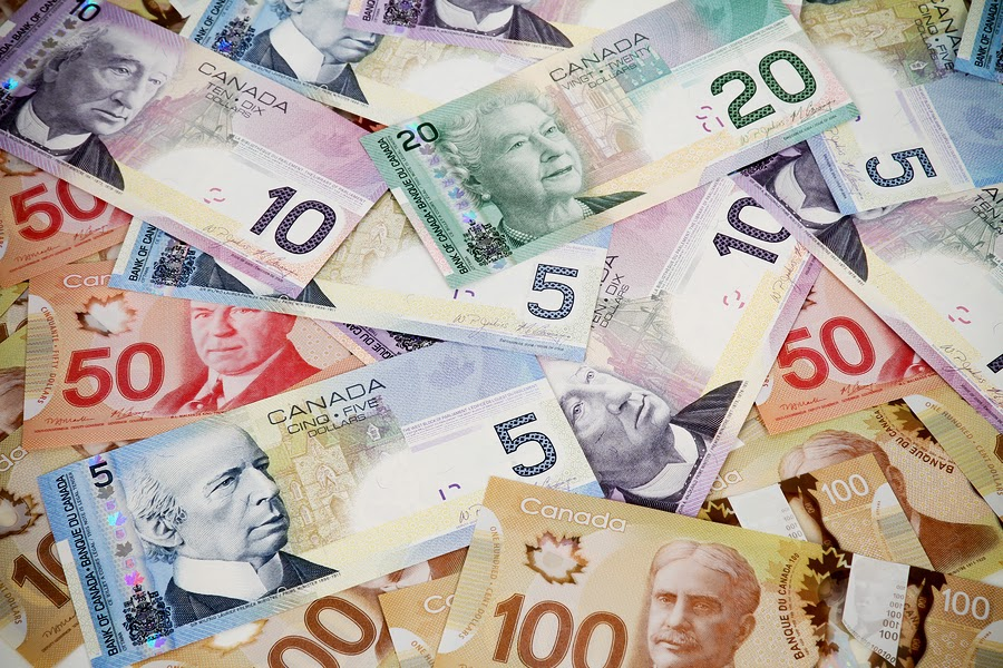 Canadian Dollar Hits