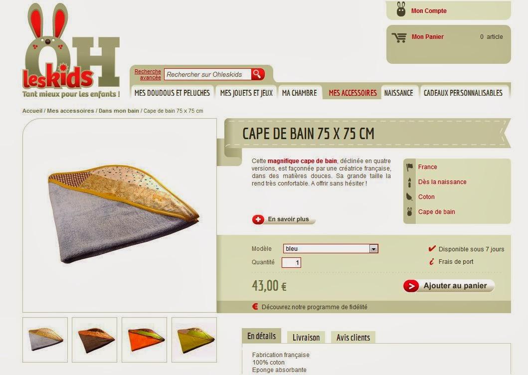 http://www.ohleskids.fr/s/27899_191542_cape-de-bain-75-x-75-cm