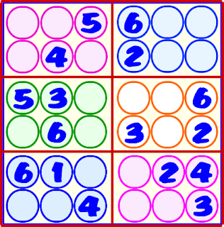 Sudoku, Sudoku 6x6, Sudoku para principiantes
