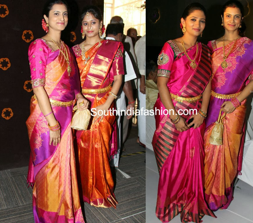 latest celebrity bridal sarees