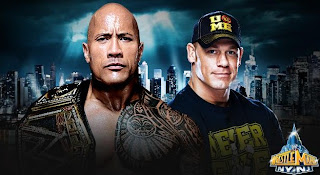 John Cena lucha vs The Rock en un combate que solamente se vive una vez en la historia, en el gran wrestlemania 29