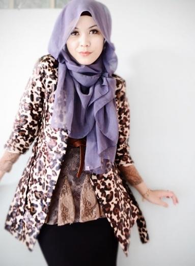 Model hijab modis untuk kerja