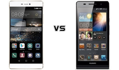 Huawei Ascend P8 vs Ascend P7 - The flagship phones from China
