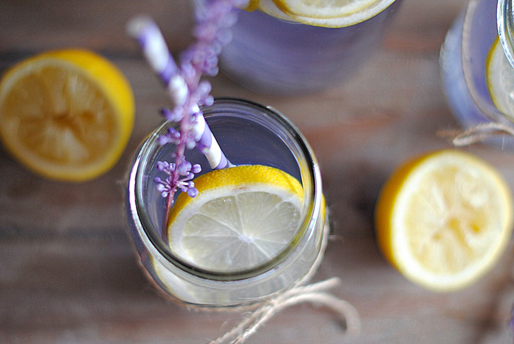 Recepty na limonády: Levanduľová limonáda