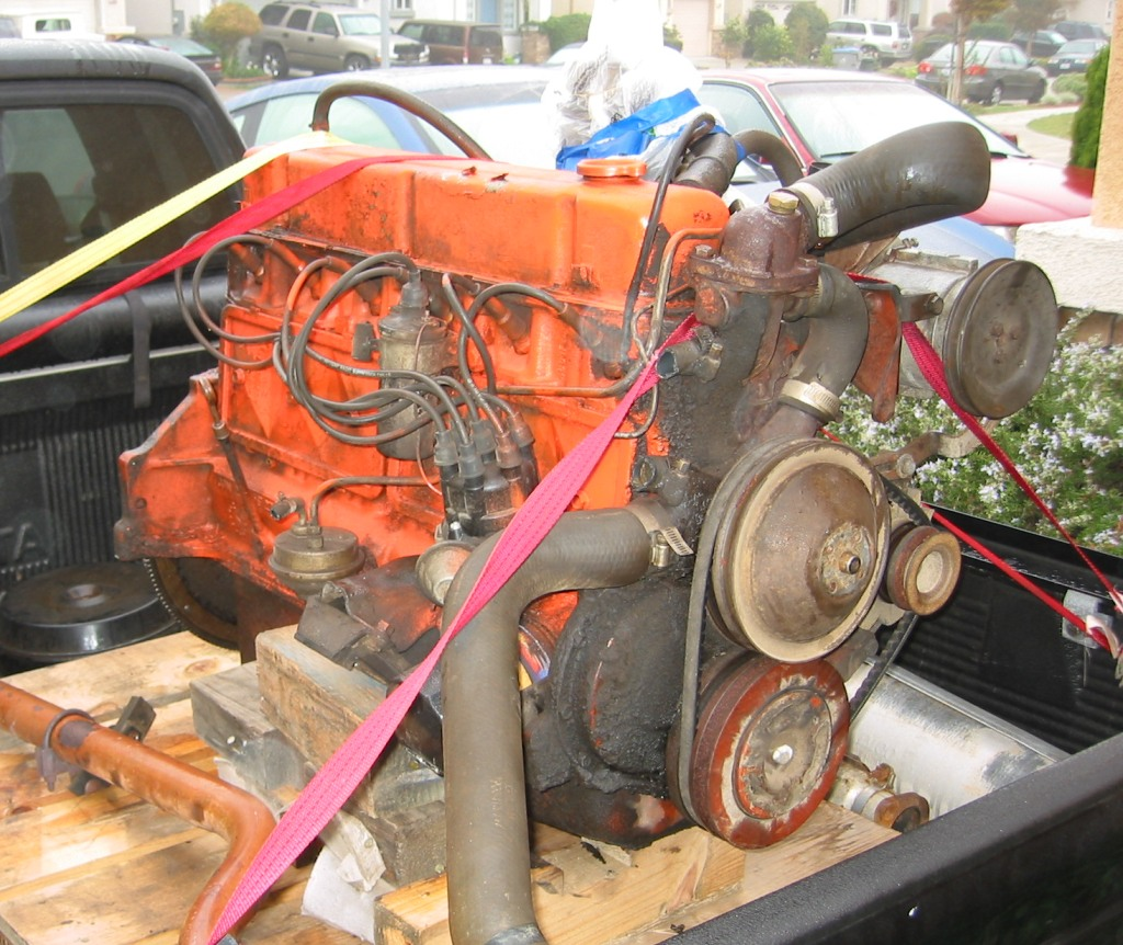 Img on Rebuilt Chevy 6 Cylinder Engines
