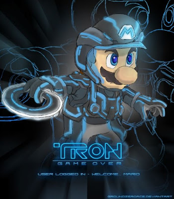 wallpaper_mario_bros_tron_fan_art_23